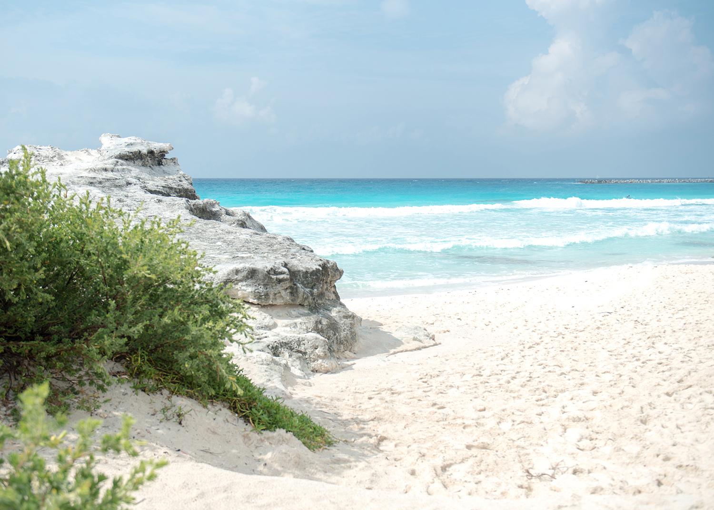 beach in Cancun Mexico